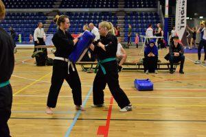 karate zelfverdediging