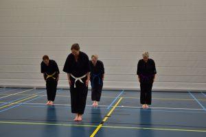 Daidokan Karate Leiden kata bunkai training