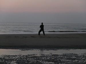 kata op het strand