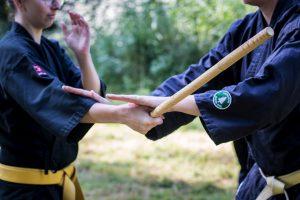 karate zelfverdediging Modern Arnis Shuri Ryu Leiden