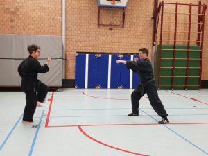 Daidokan Karate Leiden trainen op afstand